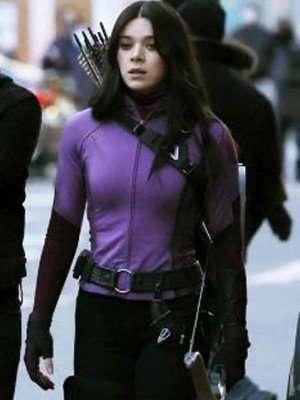Hawkeye 2021 Kate Bishop Leather Jacket