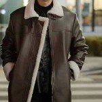 Itaewon Class Ahn Bo Hyun Leather Coat