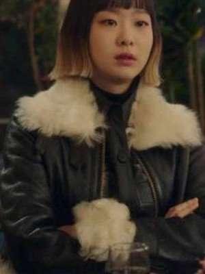 Itaewon Class Kim Da-Mi Shearling Jacket