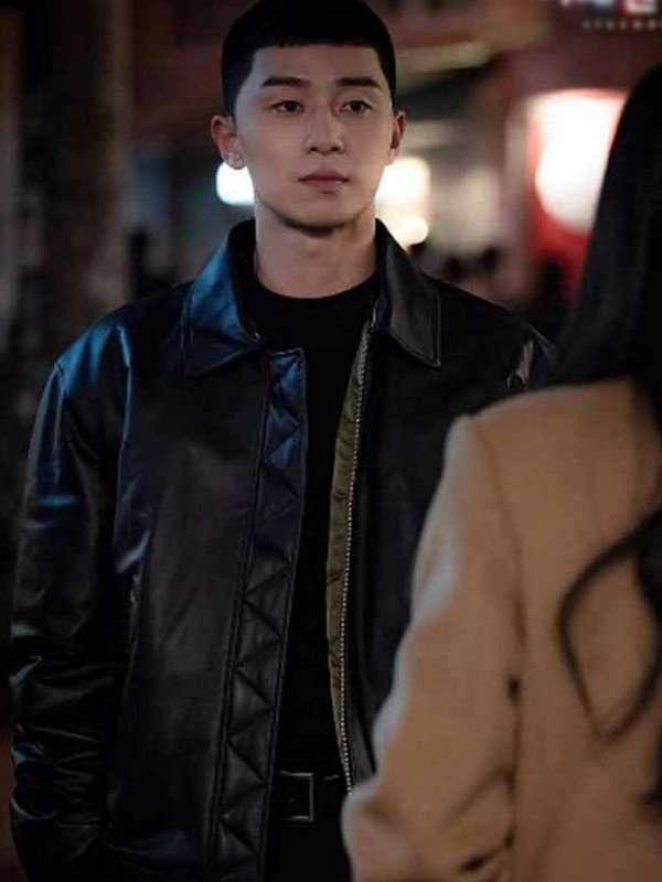 Itaewon Class Park Seo-Joon Black Jacket
