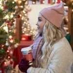 Jessy Schram A Nashville Christmas Carol Sherpa Jacket