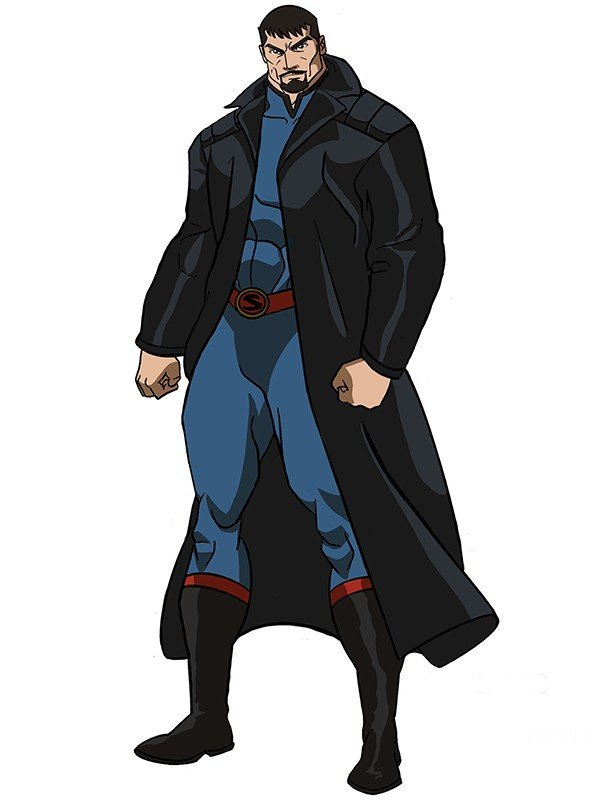 Justice League Gods and Monsters Darkseid Coat