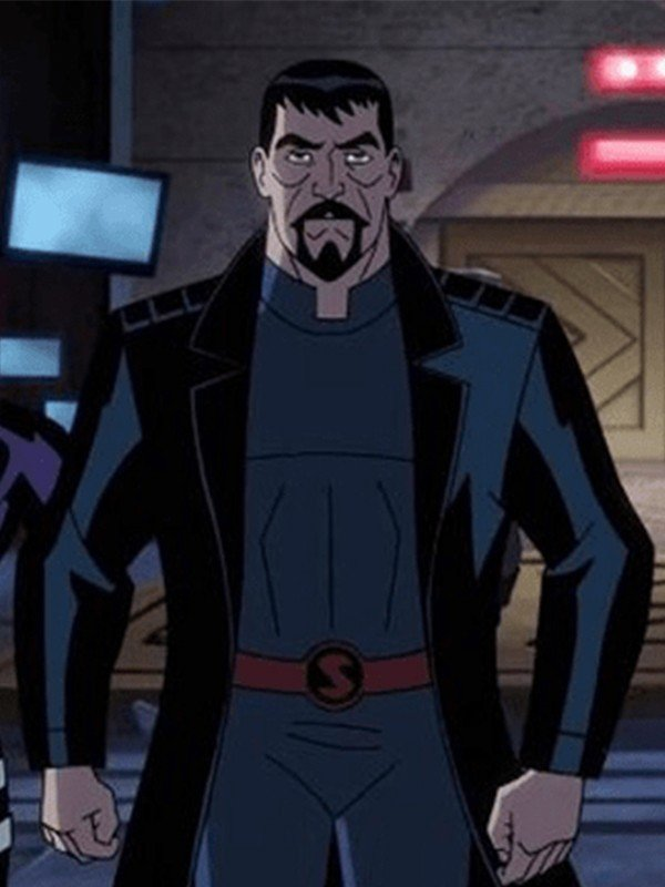 Justice League Gods and Monsters General Zod Coat