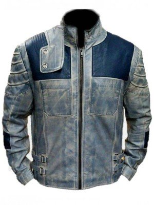 Superman Justice League Krypton Leather Jacket