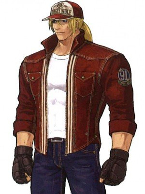 Terry Bogard King Of Fighters XIV Cotton Jacket