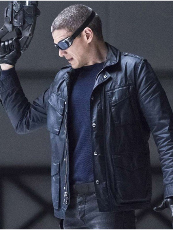 Legends Of Tomorrow Captain Cold Black Jacket