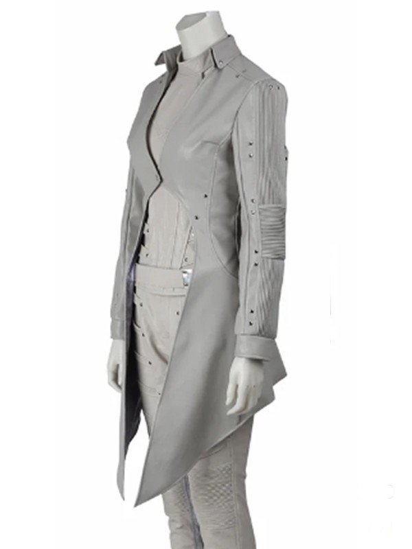 Legends Of Tomorrow White Canary Leather Coat