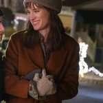 Mackenzie Davis Happiest Season Coat