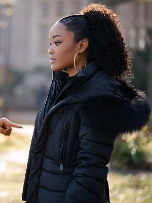Latoya Tonodeo Power Book II Ghost Parka Jacket