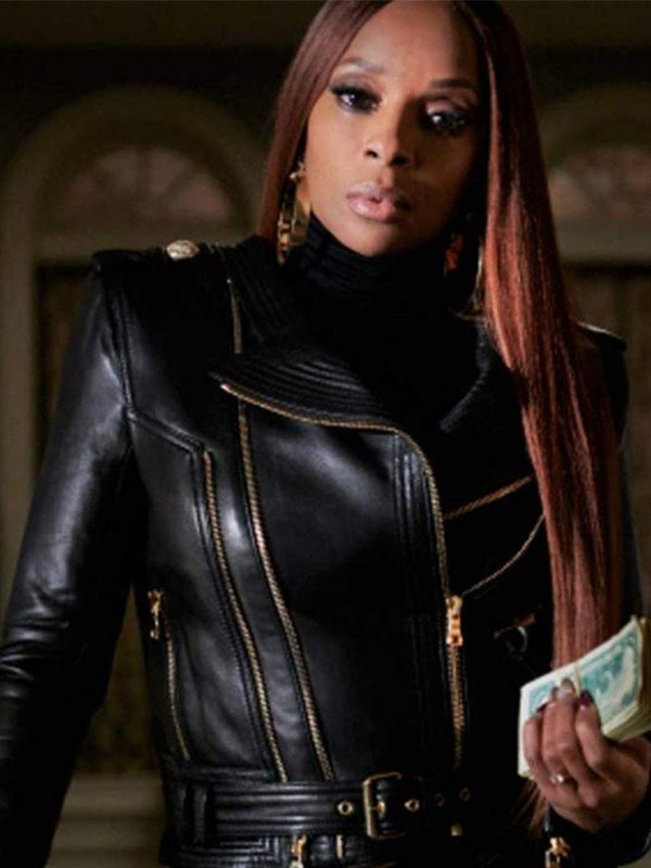 Power Book II Ghost Mary J Blige Leather Jacket