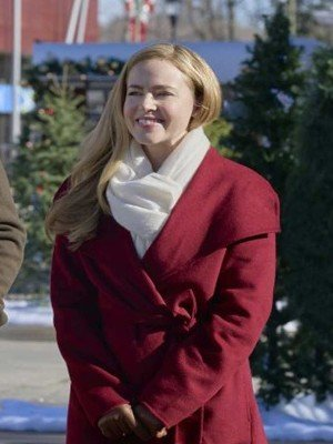 Red Project Christmas Wish Lucy Wool Coat