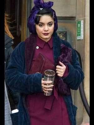 The Princess Switch: Switched Again Vanessa Hudgens Velvet Coat