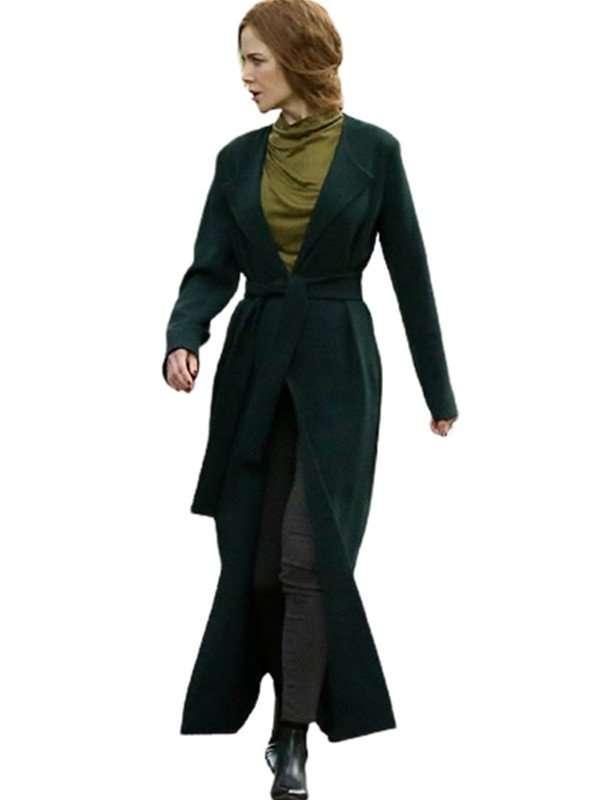 The Undoing Grace Fraser Trench Green Coat