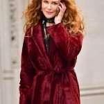 The Undoing Grace Fraser Velvet Coat
