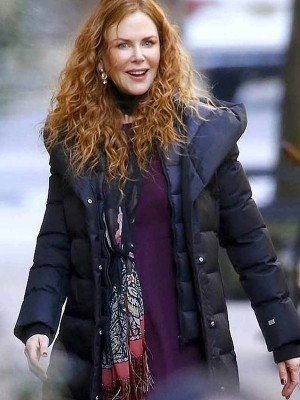 The Undoing Nicole Kidman Puffer Coat