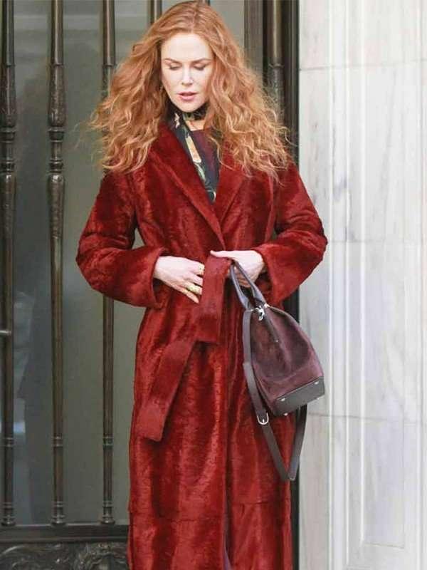 The Undoing Nicole Kidman Velvet Coat