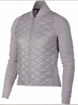 Virgin River S02 Melinda Monroe Grey Quilted Jacket