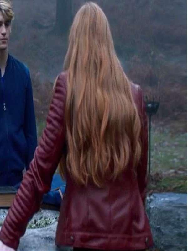 Abigail Cowen Fate The Winx Saga Bloom Jacket