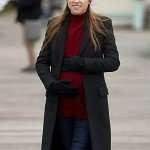 Anna Kendrick Love Life Dabra Coat
