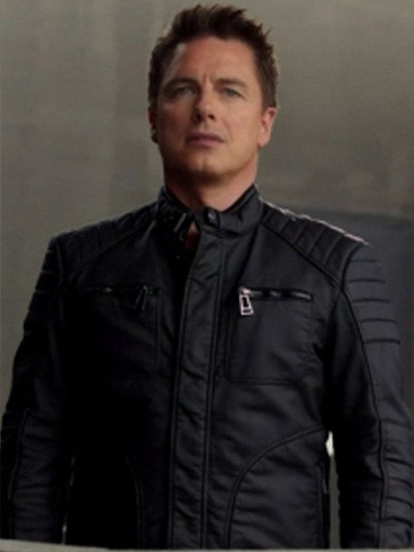 Arrow John Barrowman Leather Jacket