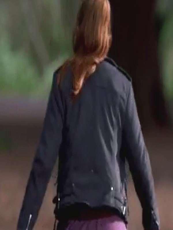Bloom Fate The Winx Saga Abigail Cowen Leather Jacket