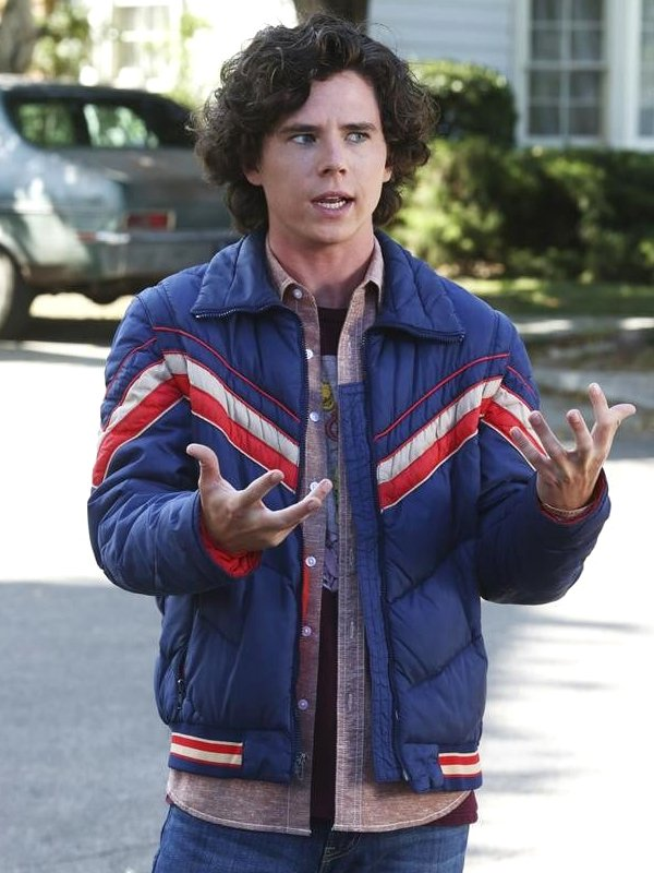 Charlie McDermott The Middle Blue Jacket