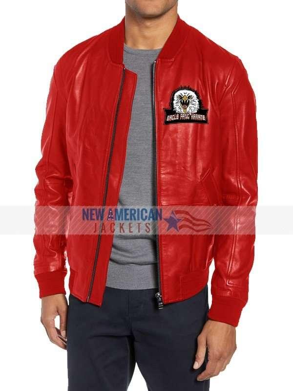 Cobra Kai Eagle Fang Karate Red Jacket