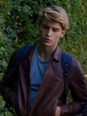 Danny Griffin Fate The Winx Saga Brown Leather Jacket