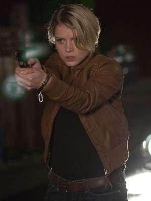 Sarah Jones Alcatraz Leather Jacket