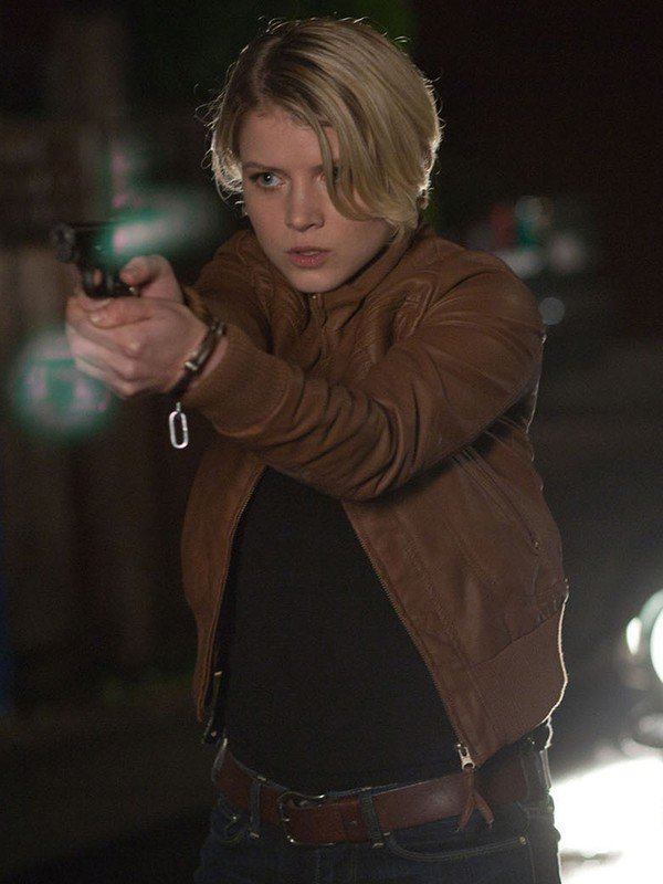 Detective Rebecca Leather Jacket
