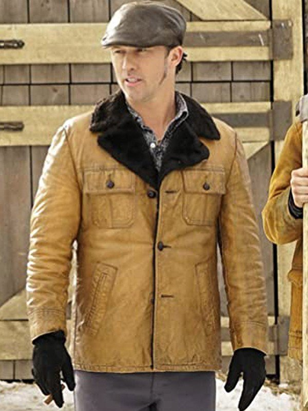 Fargo Brown Leather Jacket