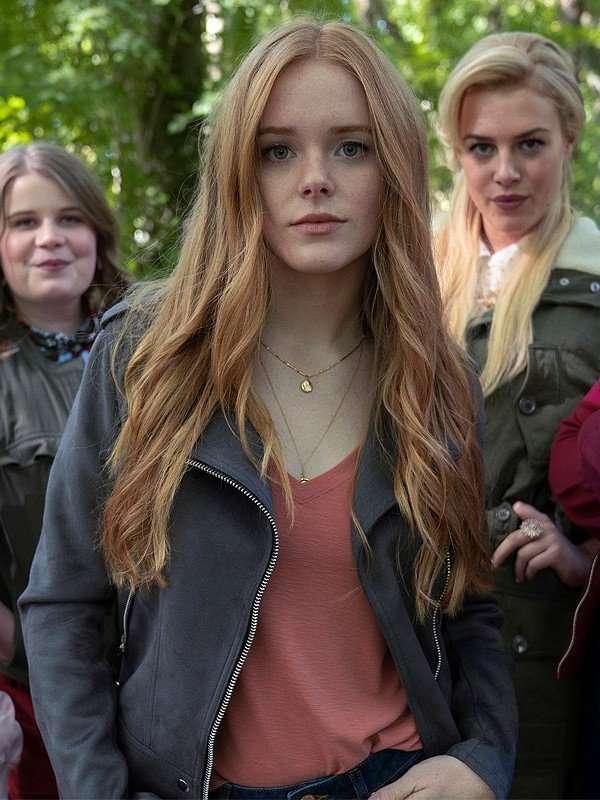 Fate The Winx Saga Abigail Cowen Black Jacket