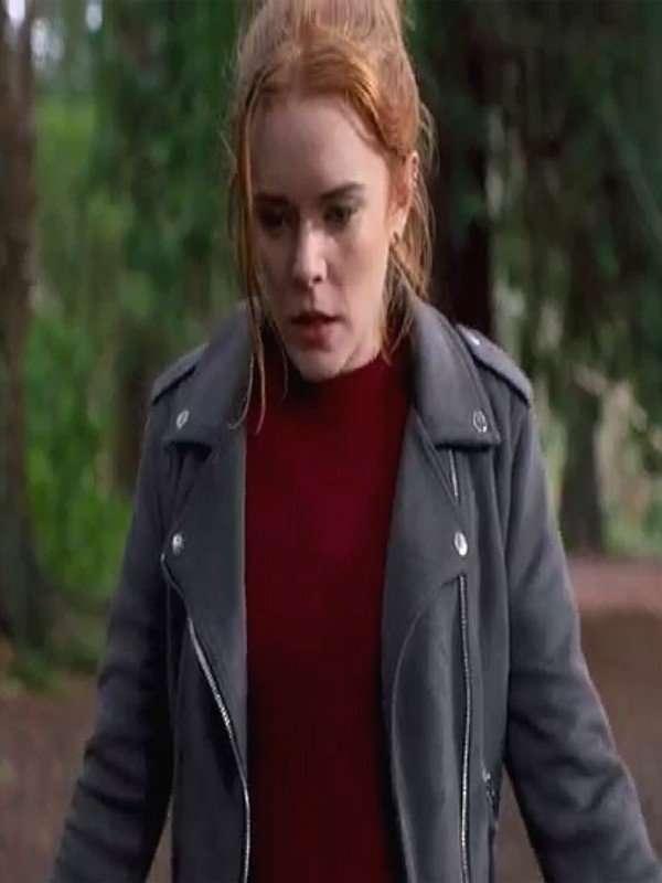 Fate The Winx Saga Abigail Cowen Black Leather Jacket