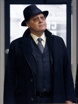 James Spader The Blacklist Wool Trench Coat