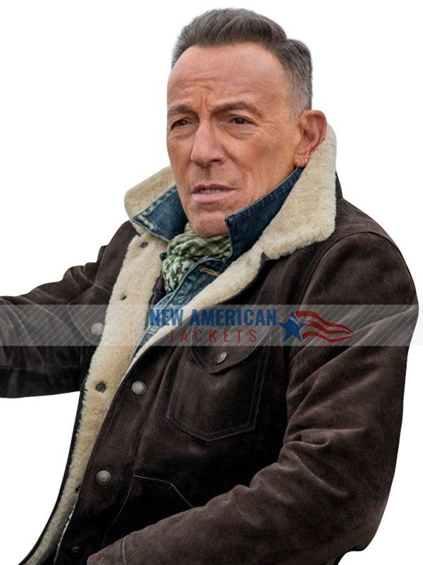 Jeep Ad Bruce Springsteen Shearling Jacket
