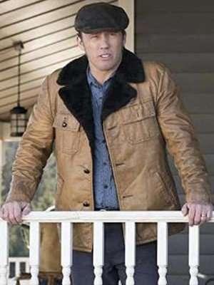 Dodd Gerhardt Fargo Shearling Collar Jacket