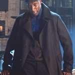Lupin Omar Sy Wool Coat