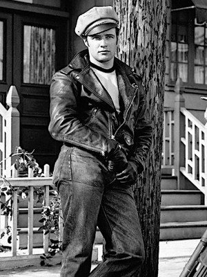 Johnny Strabler Marlon Brando Leather Jacket