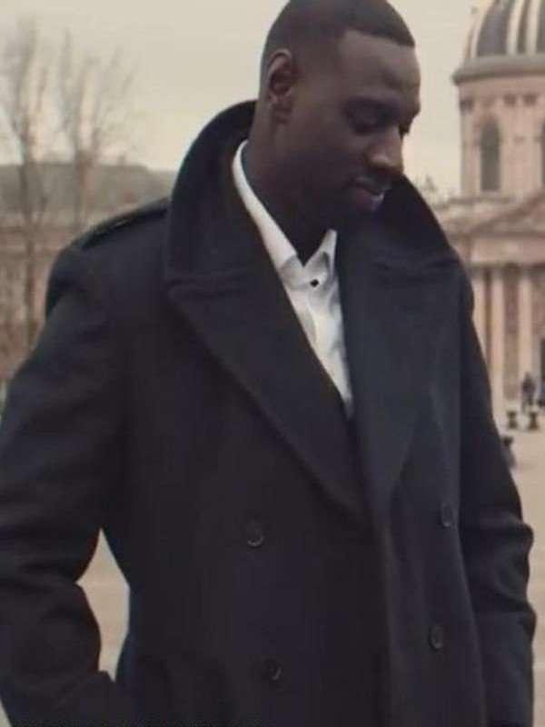 Omar Sy Lupin Assane Black Coat