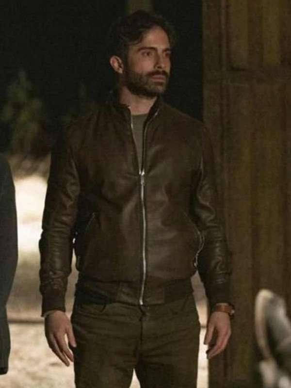 Osvaldo Benavides Monarca Leather Jacket