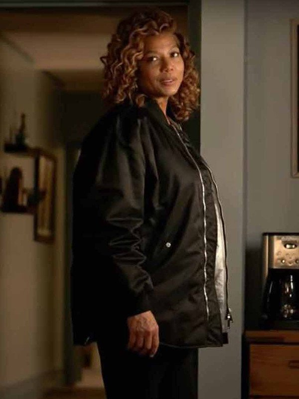Queen Latifah The Equalizer Black Jacket