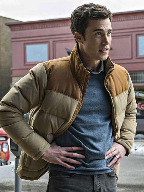 Resident Alien Mayor Ben Hawthrone Puffer Jacket