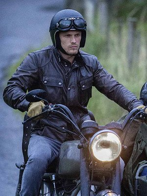 Sam Heughan Men In Kilts A Roadtrip With Sam And Graham Leather Jacket