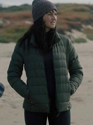 Shailene Woodley Big Little Lies Green Jacket