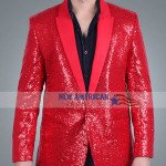 Super Bowl The Weeknd Red Blazer