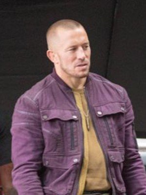 Georges St-Pierre The Falcon and the Winter Soldier Jacket