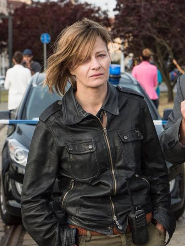 The Plagues of Breslau Helena Black Leather Jacket