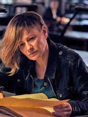 Małgorzata Kożuchowska The Plagues of Breslau Leather Jacket