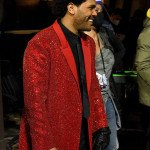 The Weeknd Super Bowl Red Blazer