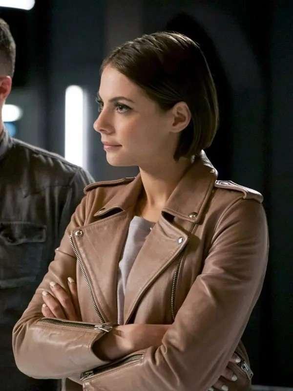 Thea Queen Arrow S06 Willa Holland Jacket